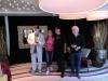 Ronnie Tutt, Sabine Kraus, James Burton und Glenn D. Hardin