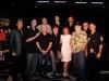 Sabine und Eddy Kraus beim Gruppenfoto mit der TCB Band